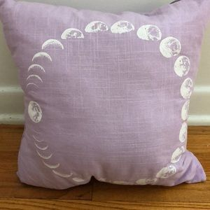 🌘🌗Lilac Moon Phase Pillow 🌓🌒